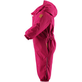 Reima Toddlers Puhuri Overall Cranberry Pink